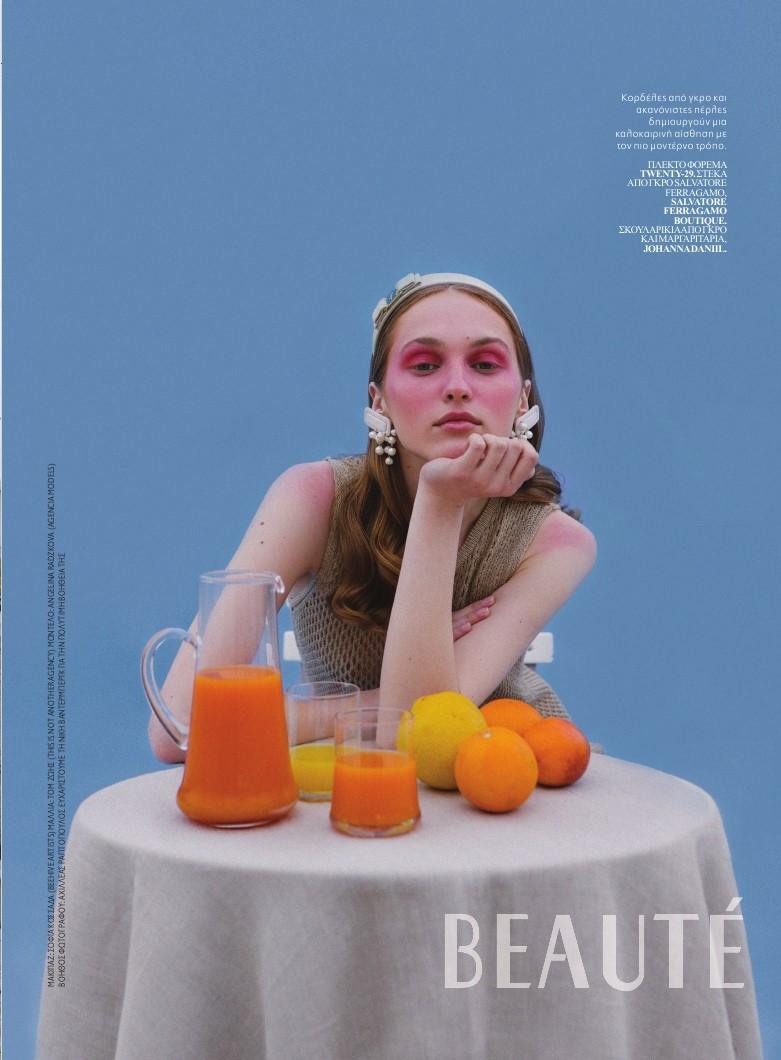 Angelina for Beauté magazine