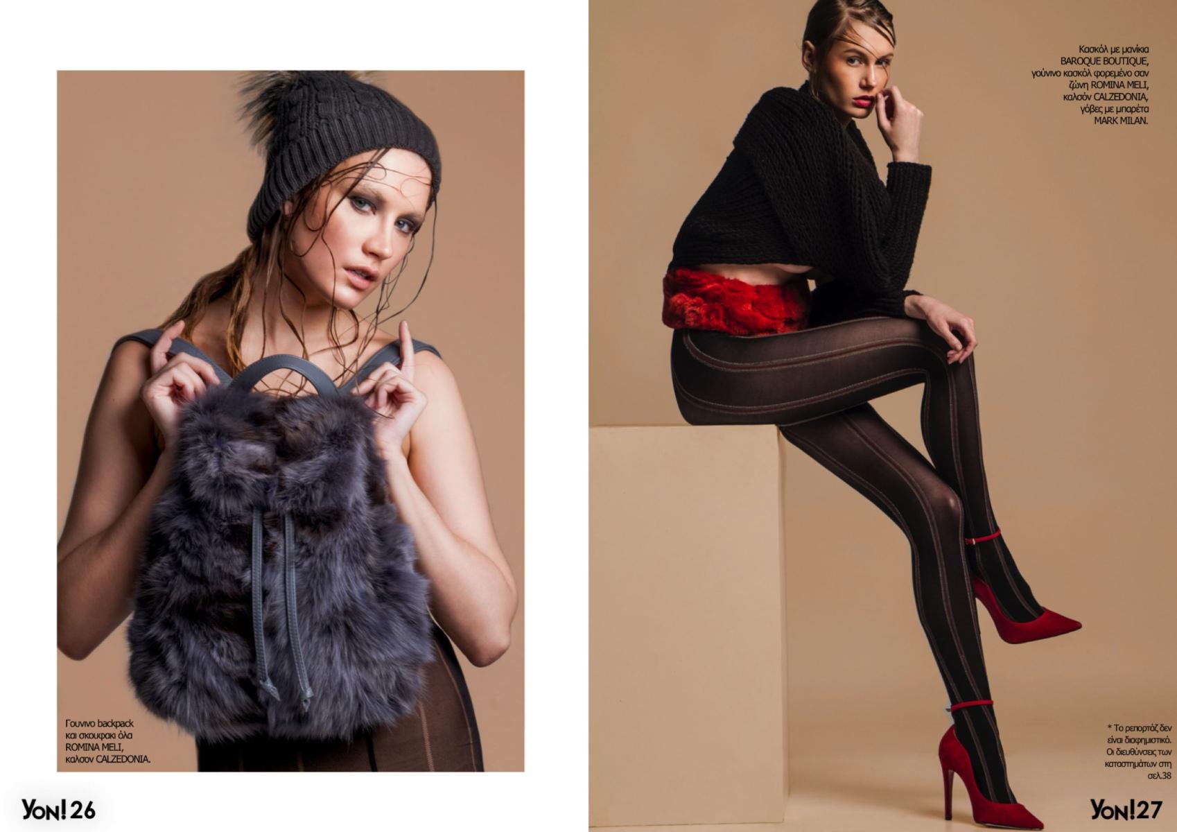 April & Margot for Yon Fashion magazine