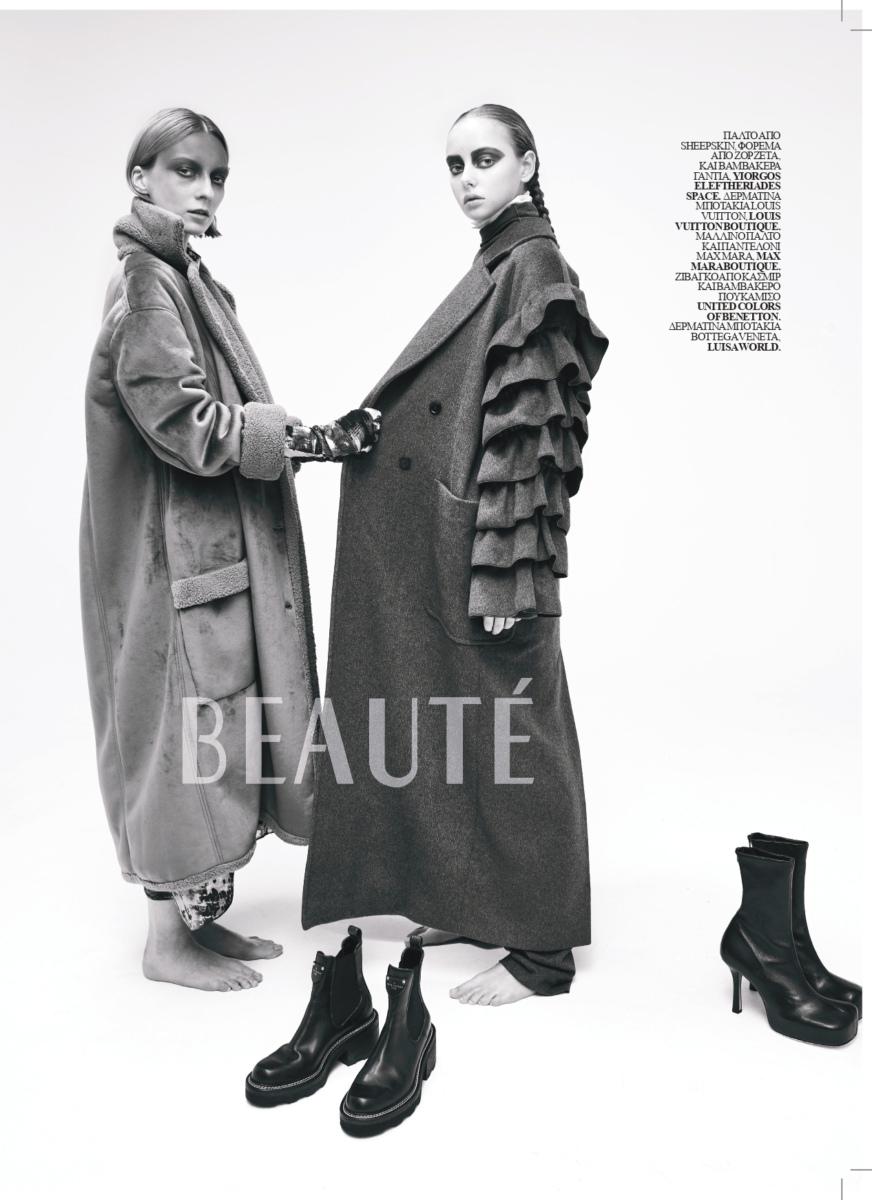 Marta for Beauté Magazine