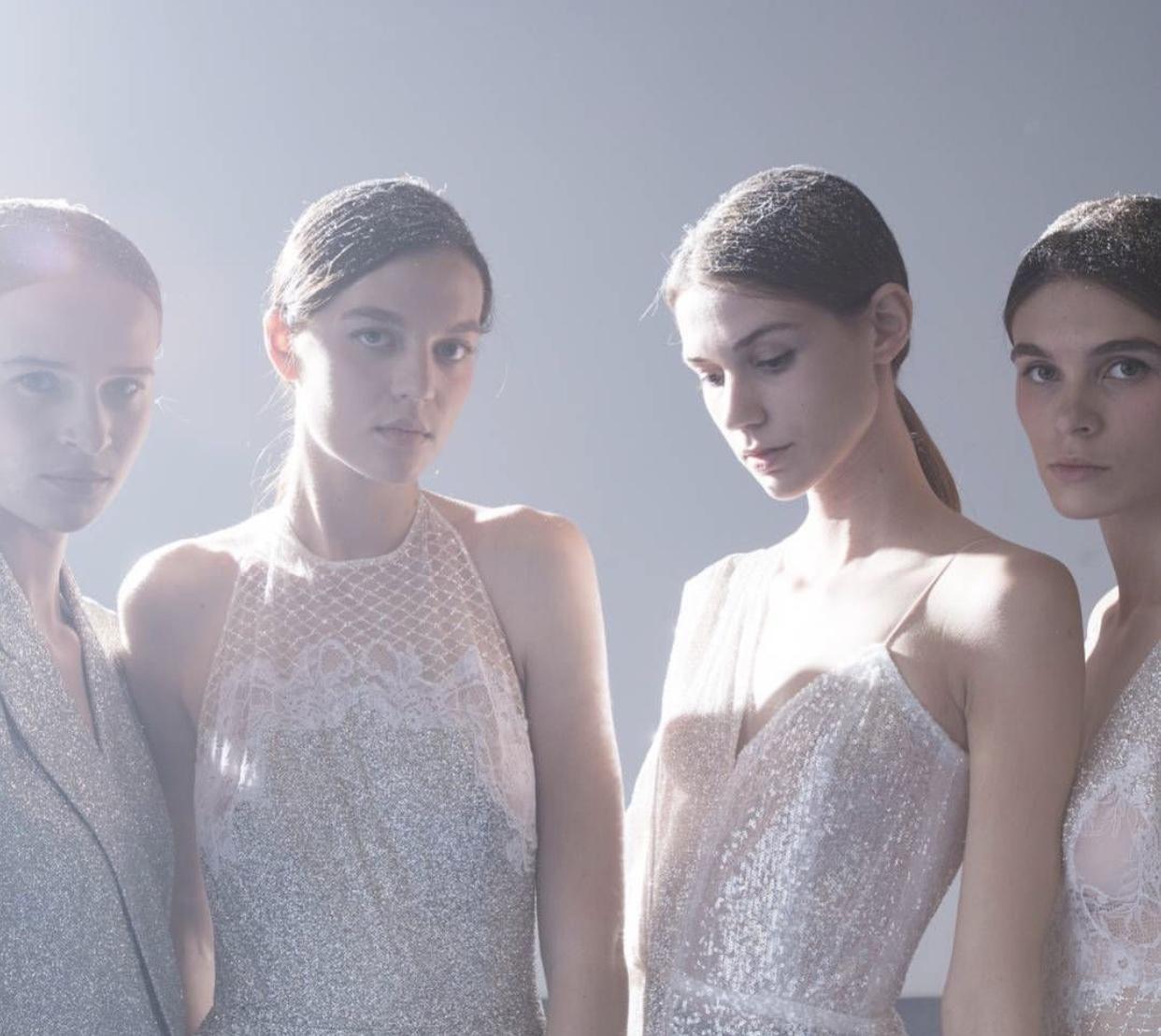Agencia models walk for Mi-Ro show