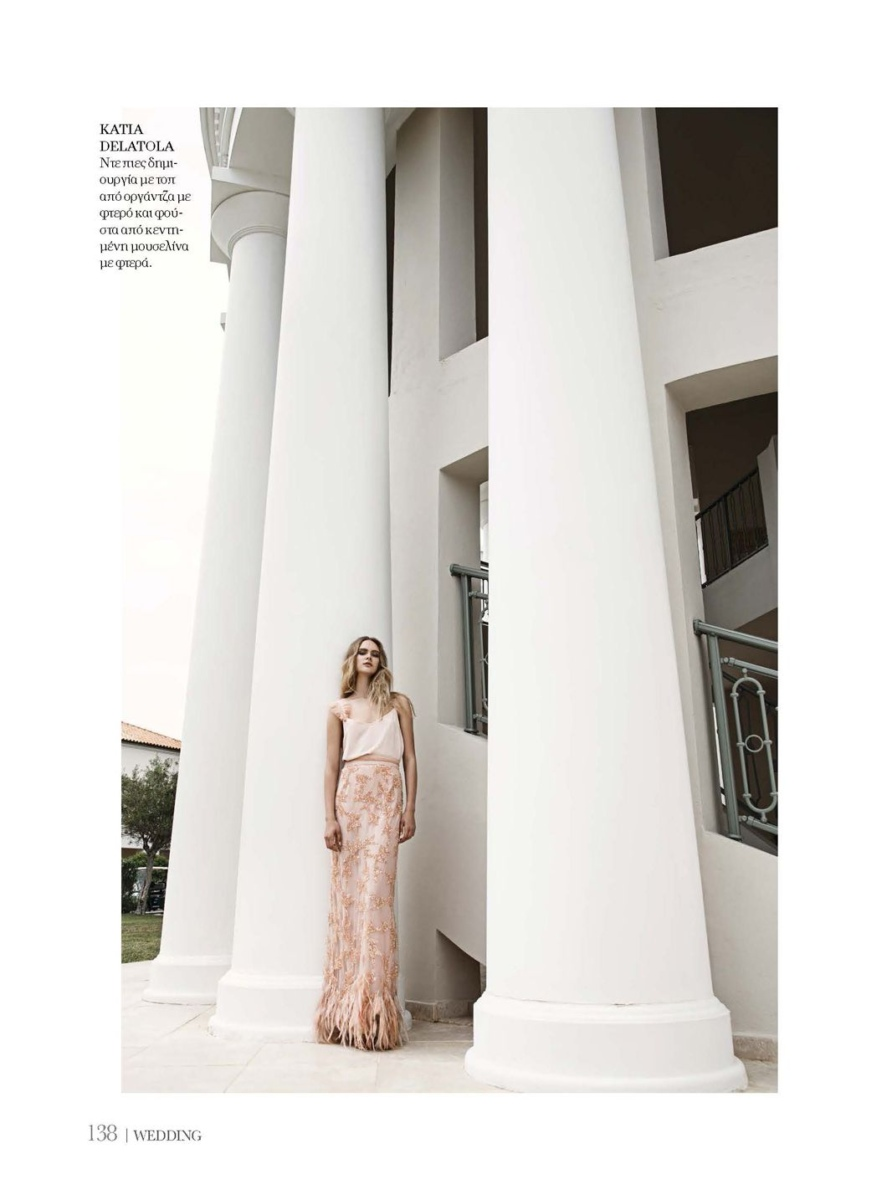 Olga for Wedding luxury magazine