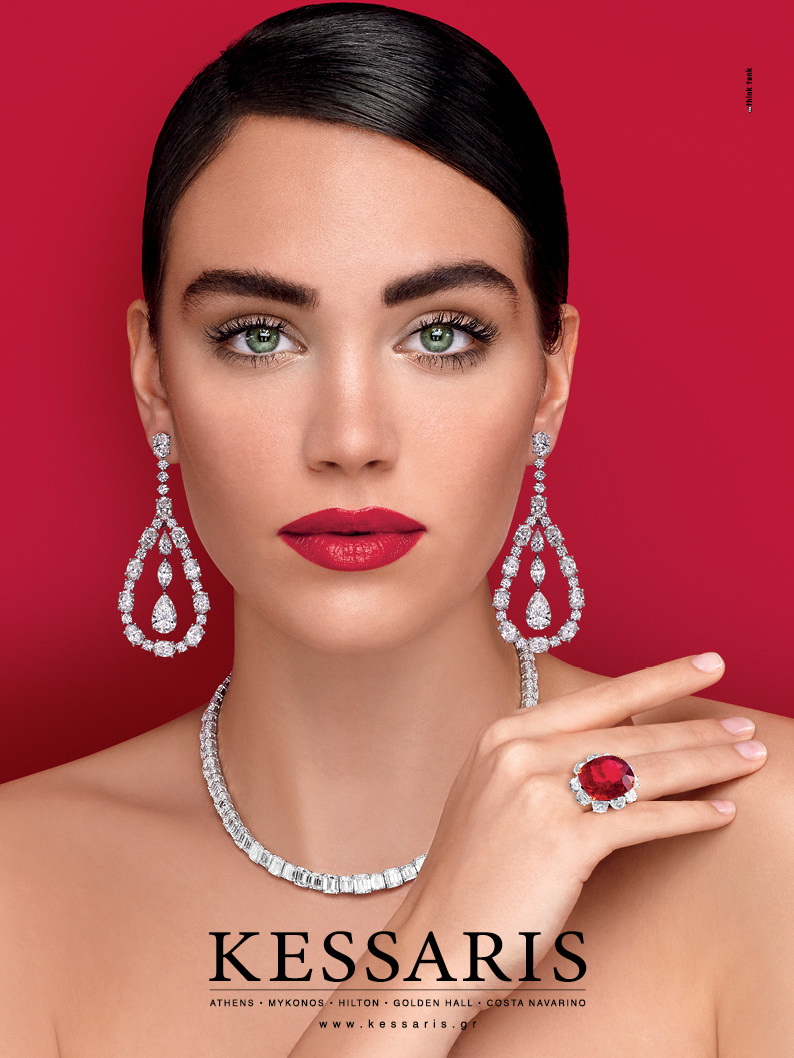 Milica for Kessaris jewellery Campaign