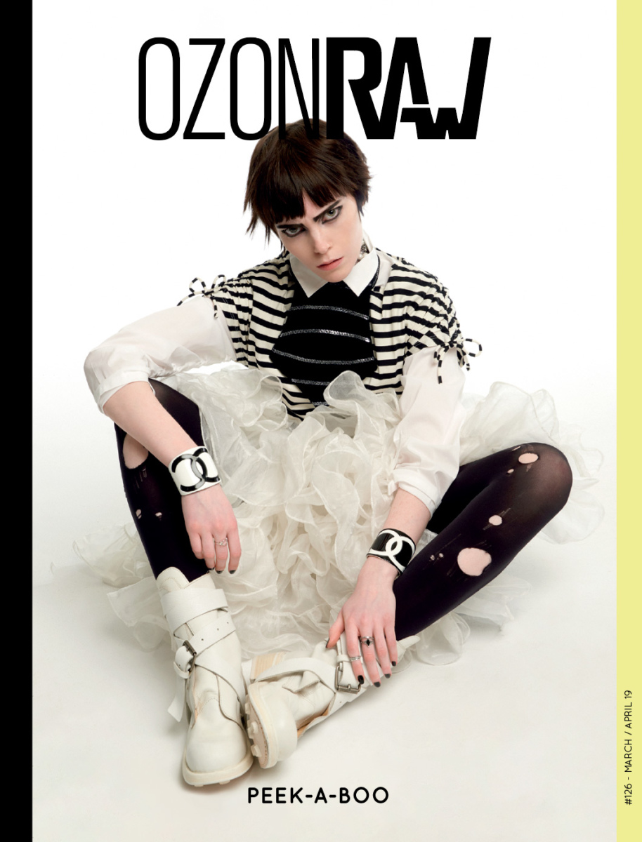 Claire for Ozon Raw magazine