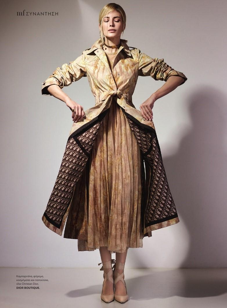 Evagelia Aravani for Madame Figaro