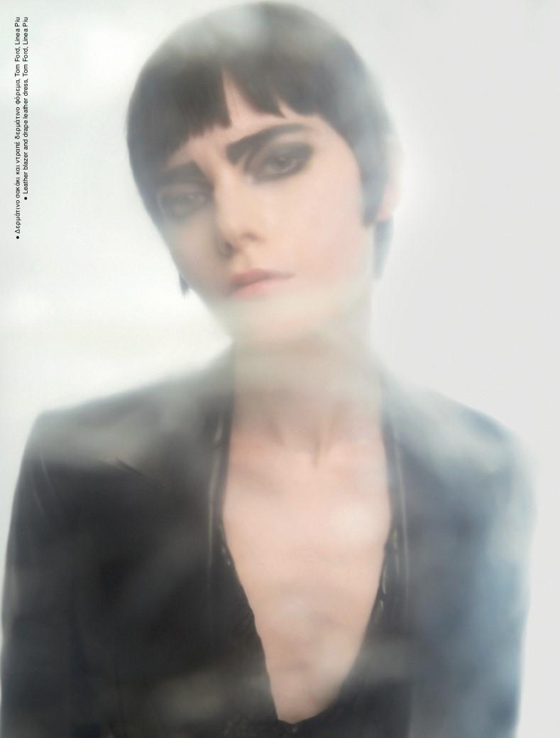 Claire for Ozon Raw magazine