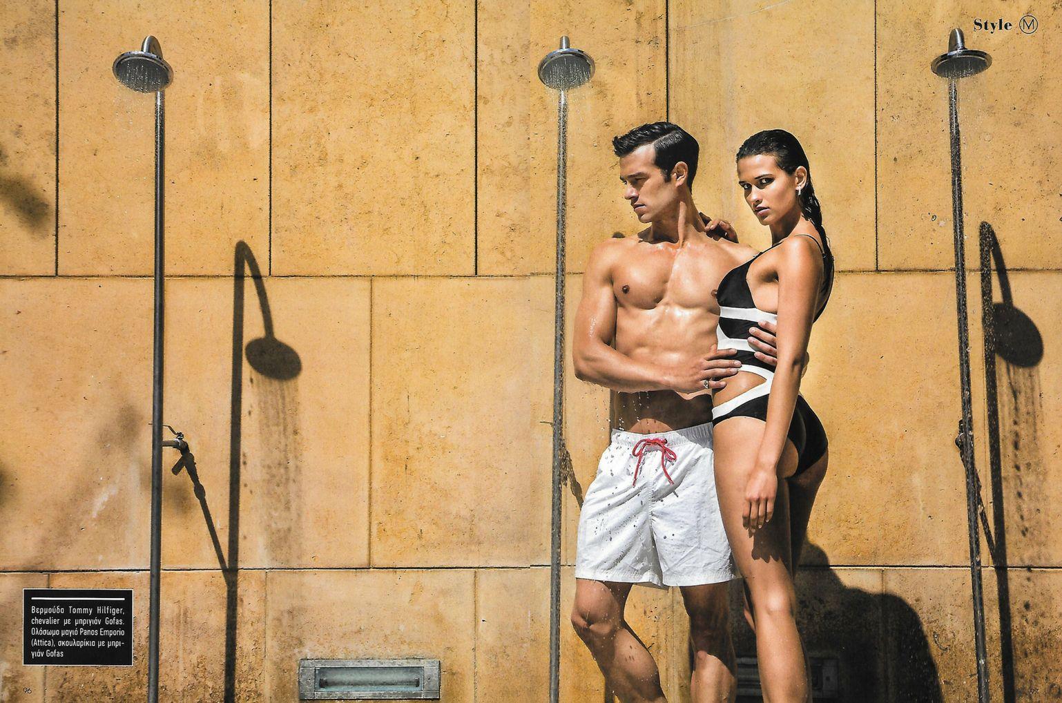 Alexandros & Aleksandra for Mancode magazine