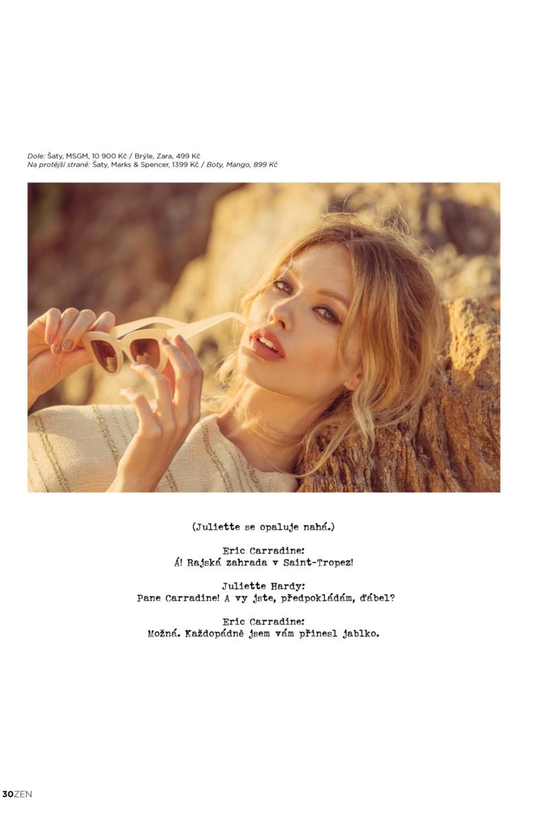 TEREZA HOLANEVA  -  AGENCIA MODELS